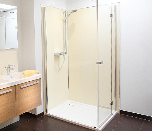 Dusche rein