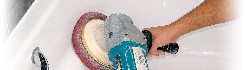 Stumpfe Badewanne Polieren